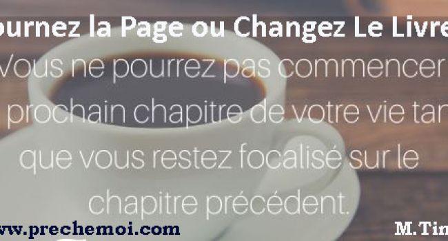 Tournez La Page ou Changez le Livre !