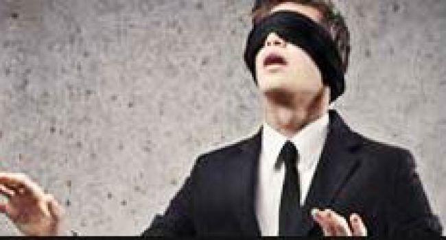Préférez-vous vivre les yeux bandés?
