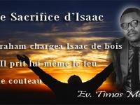 Le Sacrifice d'Isaac...
